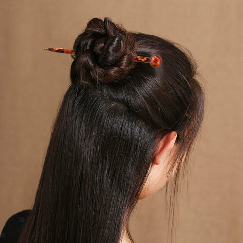Frauen Dame Handmade Holz Haarstab Haar Stäbchen Haarnadel Mode