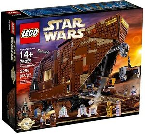 LEGO-75059-STAR-WARS-UCS-COLLECTIONNEURS-SANDCRAWLER-NEUF-NEW