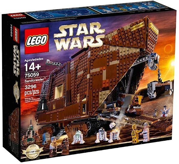 LEGO 75059 STAR WARS UCS COLLECTIONNEURS SANDCRAWLER NEUF NEW