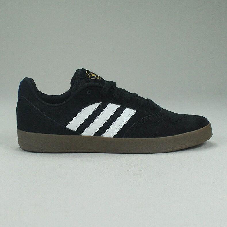 Adidas Suciu ADV Skate Tenis Zapatos  de Skate ADV Negro/Gum Nuevo en Caja Talla a870b3