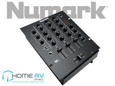 Numark m4 - 3 canali Scratch Mixer con 3 Band EQ-Fono-Nero - ** GRATIS P & P **