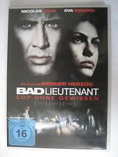 BAD LIEUTENANT - COP OHNE GEWISSEN - DVD - NICOLAS CAGE EVA MENDES