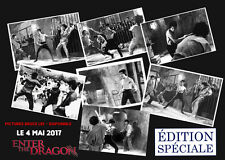bruce lee - collection - enter the dragon serie 7 photo taille 10 x 15 neuf