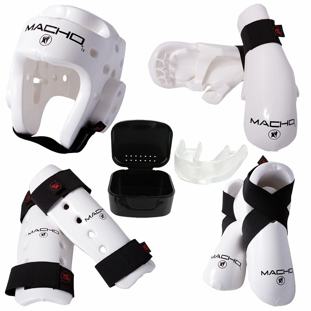 Dyna Sparring Gear Set  White