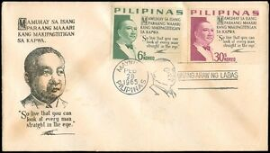 Philippine-1965-Unang-Araw-ng-Labas-FIRST-DAY-COVER