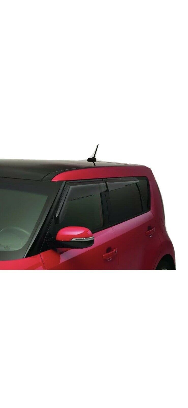 NAGD Compatible with 2014-2019 Kia Soul 2016-2018 Kia Soul EV 4 Door Hatchback Passenger Side Right Front Door Window Glass