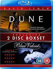 DUNE AND BLUE VELVET - BLU-RAY - REGION B UK