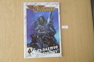 Ambitieux Gw Warhammer Monthly-issue 43 2001 Ref:1430-afficher Le Titre D'origine Pour AméLiorer La Circulation Sanguine
