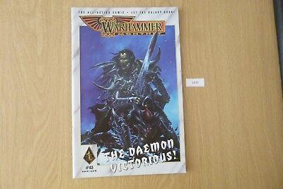 Cordiale Gw Warhammer Mensile-issue 43 2001 Ref:1430-mostra Il Titolo Originale Sii Amichevole In Uso
