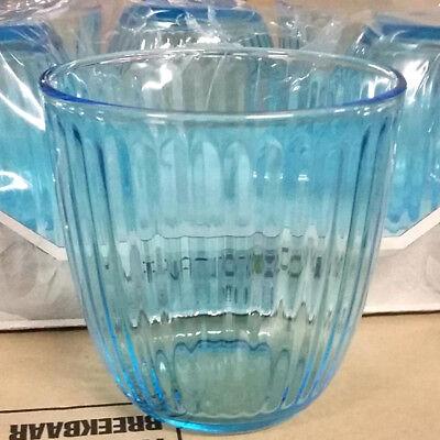 Confezione 6 bicchieri line blu 29 cl bormioli
