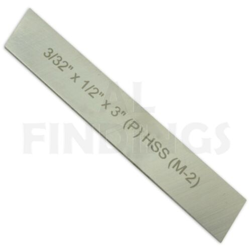 """Lathe Parting Off Tool Holder Clamp Type 10mm ShanK HSS Blade 3//32/"""" x 1//2/"""" x 4/"""""""