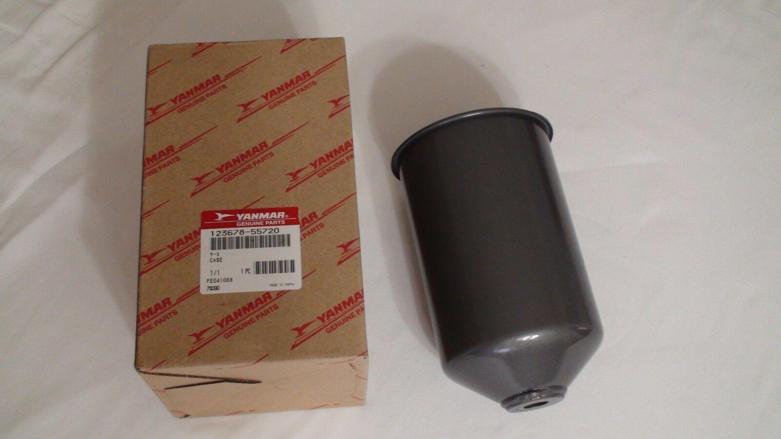 YANMAR 41650-550310 123678-55720 caja del filtro de combustible Tazón de fuente vivienda 6LY2A Ste STP UTE