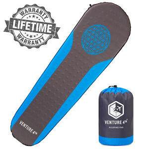 VENTURE-4TH-Self-Inflating-Sleeping-Pad-for-Hiking-Camping-amp-Outdoor-Adventures