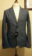 DKNY Two Tone Check Sport Coat Blazer BFB104792 Size 40R