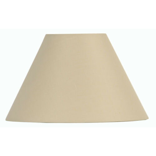 Oaks Lighting Cotton Coolie Lamp Shade 8 inch S501//8 Available in 25 Colours
