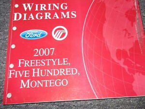 2007 Ford FREESTYLE MONTEGO Ford 500 Electrical Wiring ...