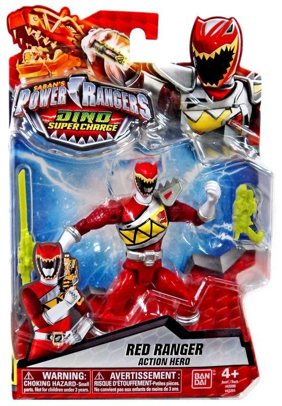 Power Rangers Dino Super Charge ROT Ranger Action Hero Action Figure