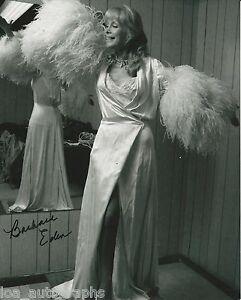 Barbara-Eden-hand-SIGNED-I-Dream-of-Jeannie-8x10-034-vintage-adorable-photo-COA-1B