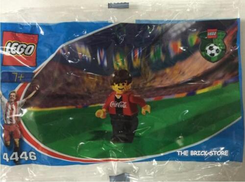 FAST LEGO SOCCER COCA COLA FORWARD 1 POLYBAG FIGURE SEALED ULTRA RARE