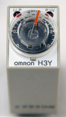 H3Y-2 MINIATURE TIMER,120 VAC 5 AMP TIMER 0-1 SECOND D-1-6-8-1