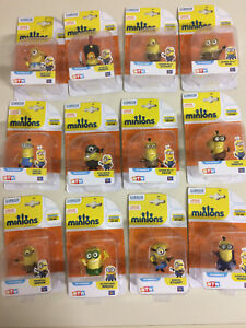 MINIONS POSEABLE  ACTION FIGURES 5 cm new Various available by  MTW toys