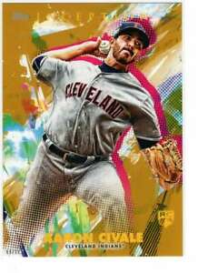 Aaron-Civale-2020-Topps-Inception-5x7-Gold-20-10-Indians