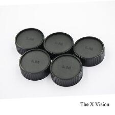 Lot of 5 Pieces Rear Lens Caps Cap for Leica Leitz Summicron M 50mm 90 35mm F2