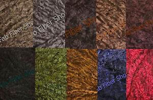 Berroco-Marmot-Fur-like-Yarn-Loom-Knit-Crochet-Free-Ship-Offer