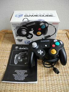 manette officielle noire Nintendo Gamecube rétro gaming controller DOL-003 2002