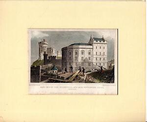 ANTIQUE EDINBURGH PRINT  034EAST END OF THE BRIDEWELL034   THSHEPHERD 1829 - Carmarthen, United Kingdom - ANTIQUE EDINBURGH PRINT  034EAST END OF THE BRIDEWELL034   THSHEPHERD 1829 - Carmarthen, United Kingdom