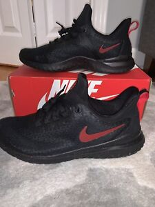 Men-039-s-Nike-Renew-Rival-Shoes-Black-Red-Running-Sneakers-BV6108-002-Size-11-0