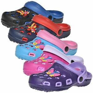 Boys Girls BEACH CLOGS CROCKS MULE FLIP FLOP SANDAL SUMMER SHOES Slippers