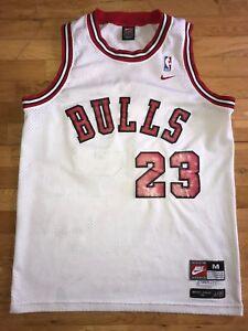 c54f74237ec Michael Jordan Men's Medium M Chicago Bulls Nike Swingman NBA Rookie ...