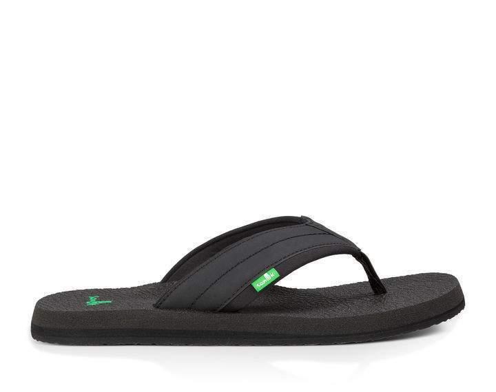 Sanuk Beer Cozy 2 Sandals - Men's - 12, Black