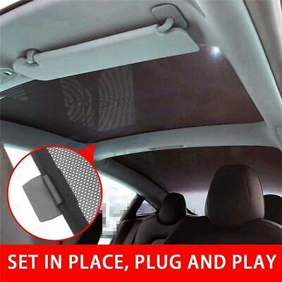 Tesla Model Y Glass Roof Sunshade with UV//Heat Insulation Cover Set of 2