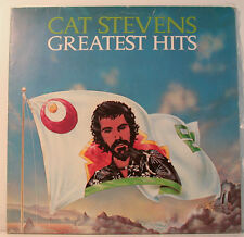 "[j816] CAT STEVENS GREATEST HITS- MOONSHADOW - PEACE TRAIN- ISLAND- VINYL""12"