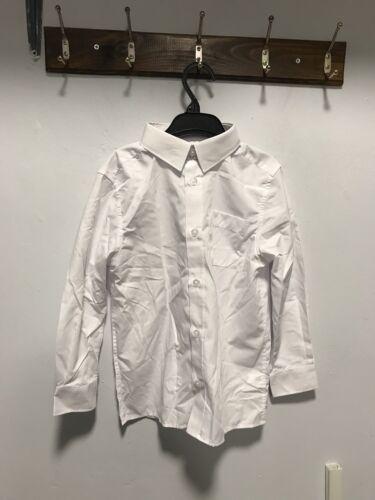 White School Shirt Size 6-7 Years New
