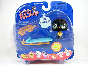 BNIB-LITTLEST-PET-SHOP-PINGUIN-WITH-SLED-AND-GOGGLES-333