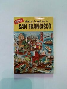 Vintage-1960-039-s-What-To-Do-And-See-In-San-Francisco-California-Souvenir-Booklet