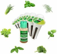 New AeroGarden Natural Organic 7- Pod Gourmet Herb Seed Kit Fast Garden