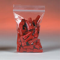 1000 Reclosable Reusable Ziplock Jewelry Plastic Fda Clear Poly Bags 1 1/2x2