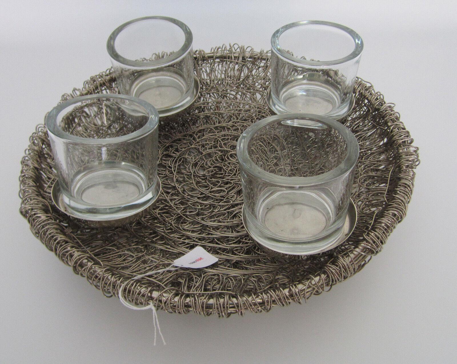 Kerzenhalter, Dekoschale Ø 37,5 cm    P