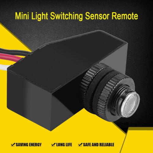 12V 24V 36V 48V Mini Dämmerung Fernbedienung Fotozelle Auto Lichtsensor Schalter