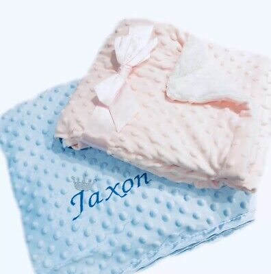 Deluxe Soft and Cuddly Bubble Blanket Soft Touch