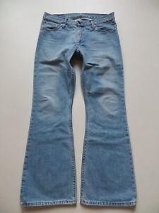 Levi's 516 Schlag Jeans Hose W 34 /L 32, Vintage Denim Schlaghose, KULT Modell !