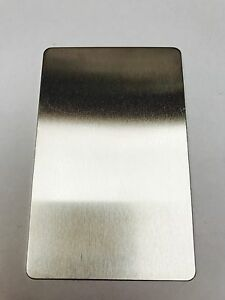 Aluminium / Copper / Brass / Stainless Steel Blank Business Cards Metal Card //