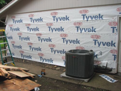 48 inch Roll TOTAL $5 S/&H Dupont Tyvek Homewrap by the linear foot