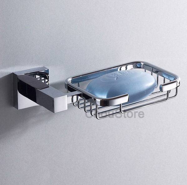 Solid Bathroom Soap Dish Wall Mounted