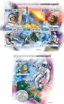 Motive Briefmarken Das Beste Weltraum Raumfahrt Udssr Belyayev Leonov Voskhod 2 Guinea Bissau Mnh Stempelset FöRderung Der Produktion Von KöRperflüSsigkeit Und Speichel