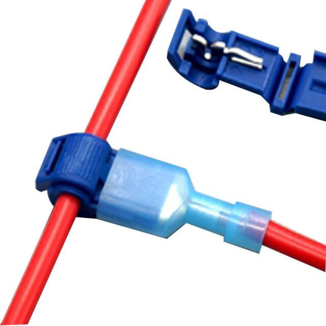 Quick Splice Scotch Lock Wire Terminals Connectors Electrical Crimp Cable Snap